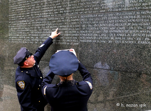 b9109d8a NYPD Emerald Society Pipes and Drums Memorial Procession Marked 9/11 ...